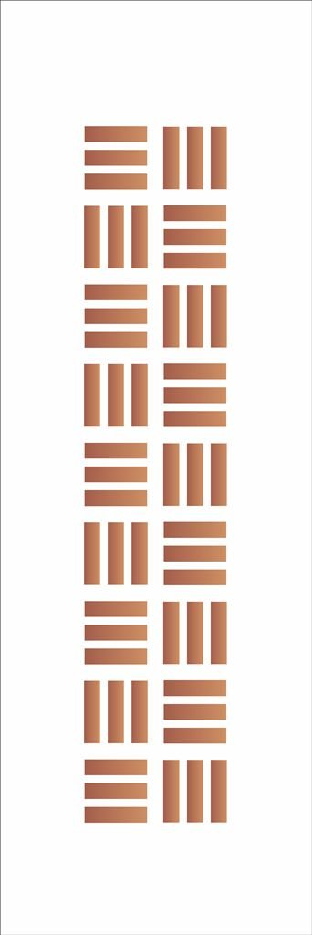 Stencil OPA Simples 10 x 30 cm 053 Tramas 1