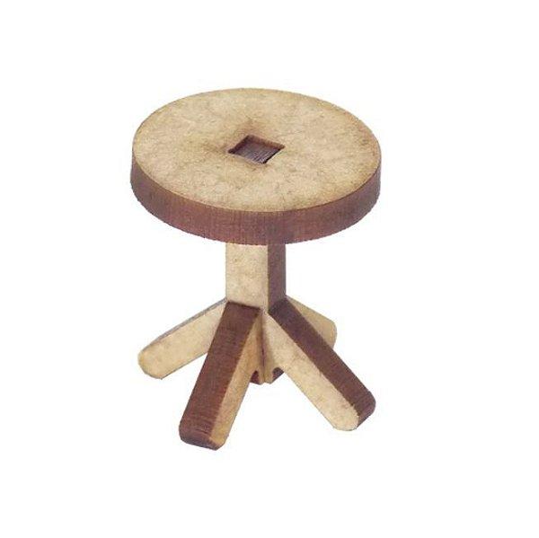 Miniatura Banquinho Circular A107