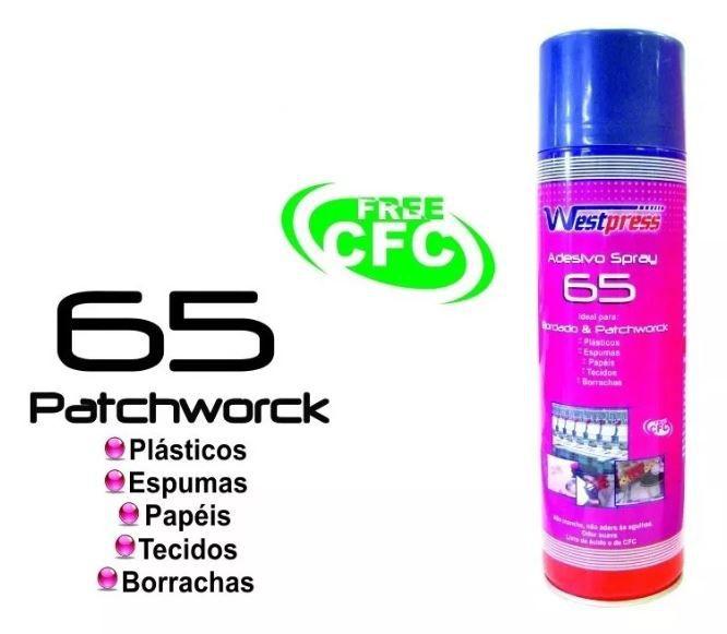 Cola Spray Adesivo Temporária Westpress 500 Ml - Kit Com 10