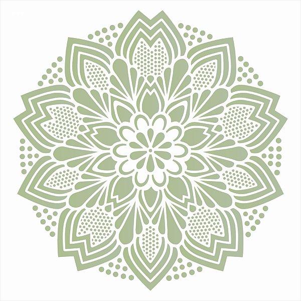 Stencil 30,5X30,5 – Mandala Renda II - OPA 2597