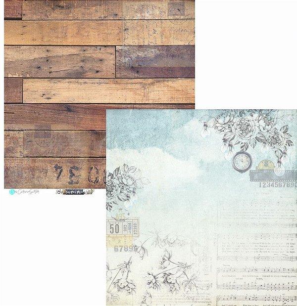 Papel Scrapbook Carina Sartor - Coleção Hypster Style - HYP-06
