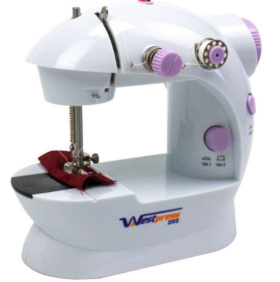 Mini Máquina de Costura Bivolt Compacta Westpress West-222N