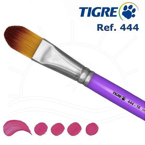 Pincel Filbert Língua De Gato - Ref. 444 - Tigre 16