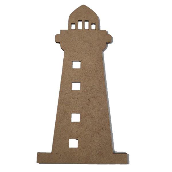Aplique Laser MDF - Torre Farol - 20cm