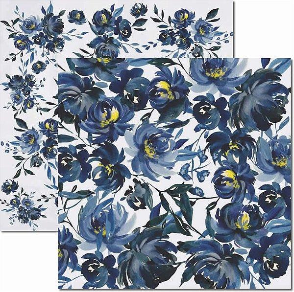 Papel Para Scrapbook Dupla Face 30,5x30,5 cm Arte Fácil - SC-432 - Inverno 6