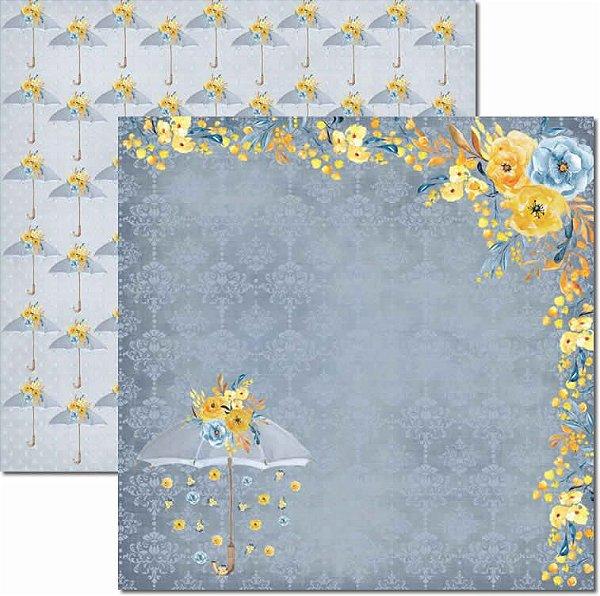 Papel Para Scrapbook Dupla Face 30,5x30,5 cm Arte Fácil - SC-431 - Inverno 5