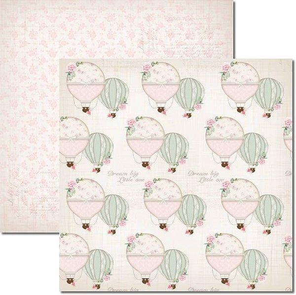 Papel Para Scrapbook Dupla Face 30,5x30,5 cm Arte Fácil - SC-379 - It´s a Baby 2