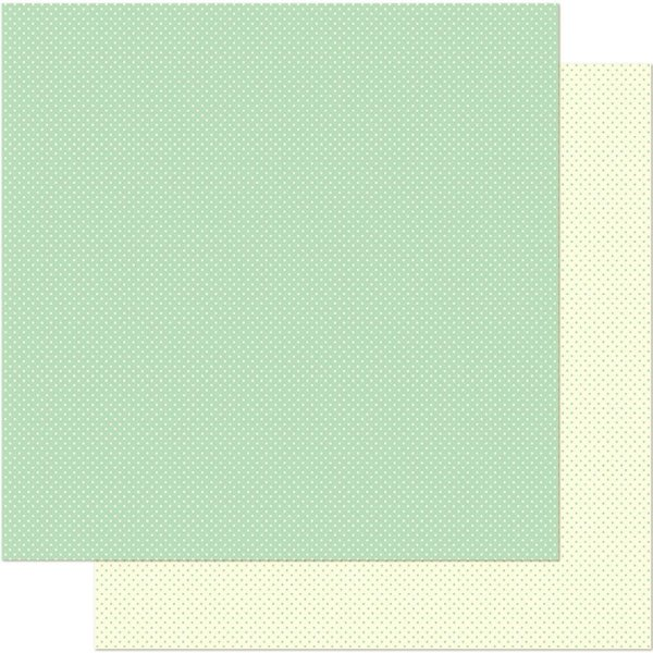 Papel Para Scrapbook 30,5 Cm X 30,5 Cm - POA VERDE PEQUENO SD-161