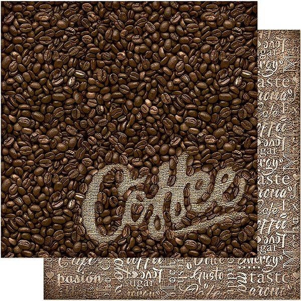 Papel Para Scrapbook 30,5 Cm X 30,5 Cm - CAFÉ / JUTA SD-568