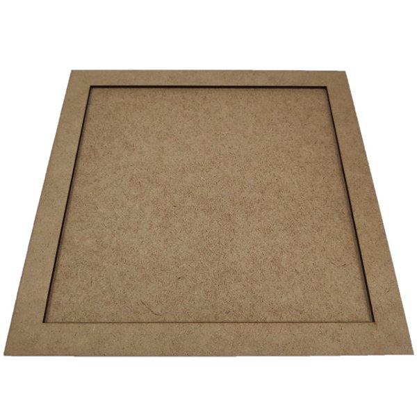 Moldura Quadrada - 28x28cm - interno 24x24cm