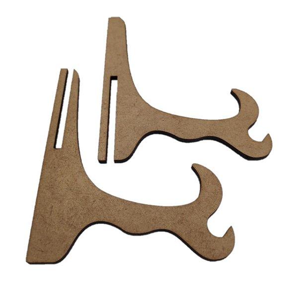 Aplique Laser MDF - Suporte Prato - 30 cm