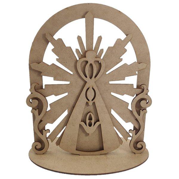Placa Nossa Senhora 3D
