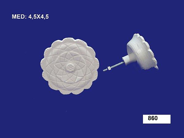 Puxador em Resina Mosaico 4,5x4,5 cm 860