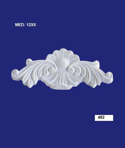 Aplique em Resina Francês 12x5 cm - 482