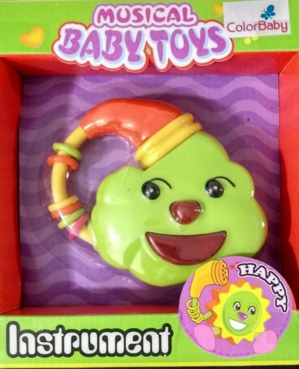 Brinquedos Para Bebês Com Botões Musicais - Nuvem