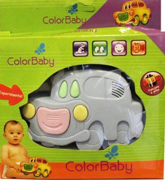 Brinquedos Para Bebês Com Botões Musicais - Carrinho