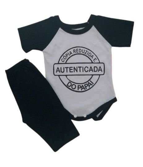 Conjunto Body com Calça Personagens - Cópia Authenticada