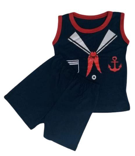 Conjunto Camisa Regata e Short Personagens - Marinheiro