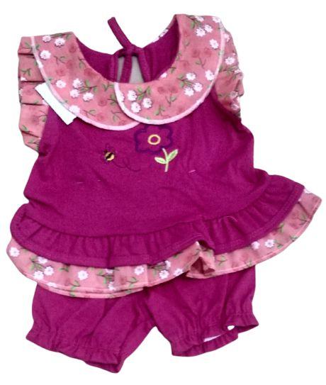 Conjunto Baby com Shorts Fluflu