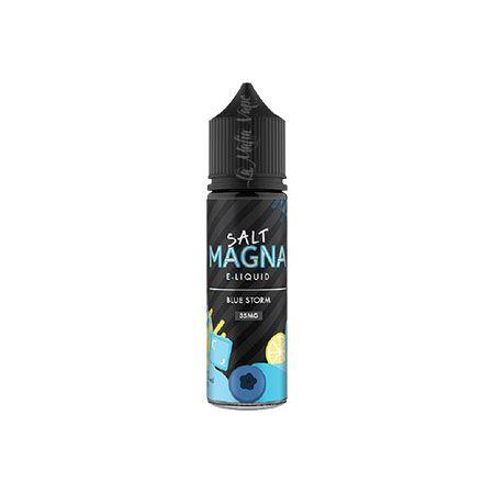 Magna Salt - Blue Storm (Blueberry e Limão Ice)