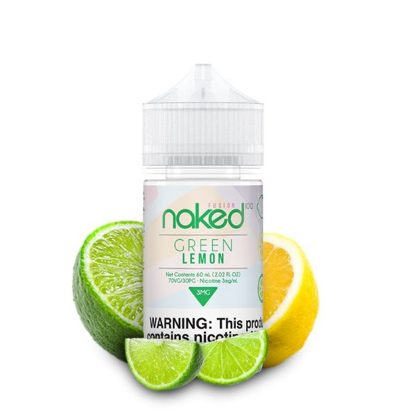 Naked - Green Lemon - (Limão Cítrico)