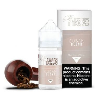 Naked Salt - Cuban Blend (Fumo Suave)