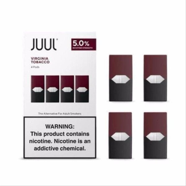 Juul - Virginia Tabaco Pod (4 Pods)