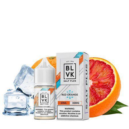 Blvk Salt Plus - Red Orange Ice