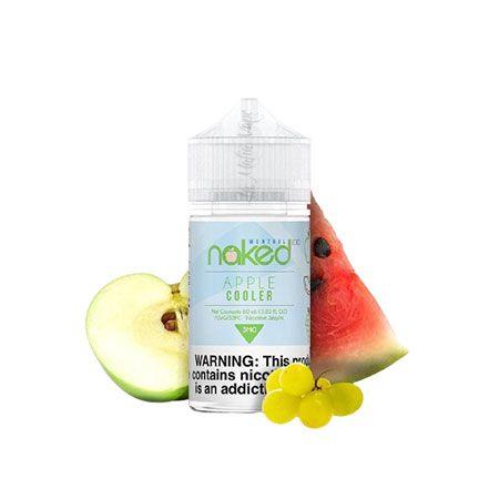 Naked - Apple Cooler (Maçã Verde, Melancia e Uva)