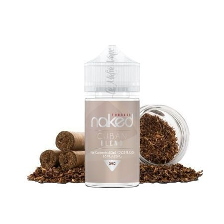 Naked - Cuban Blend (Fumo Suave)