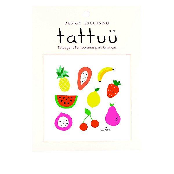 TA002 - Tattoo Fruta