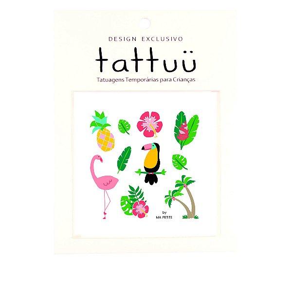 TA003 - Tattoo Tropical