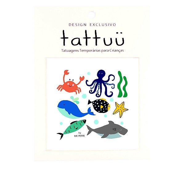 TA004 - Tattoo Fundo do Mar