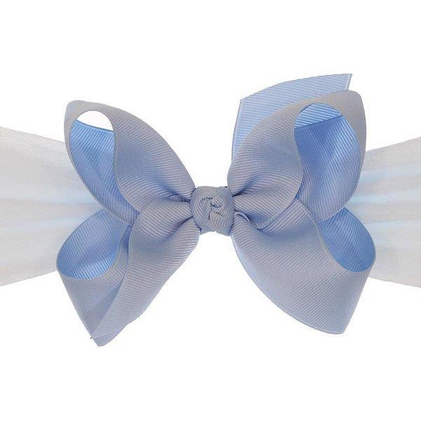 AFX014-10 - Faixa Laço Classic G Gorgurão - Azul Celeste
