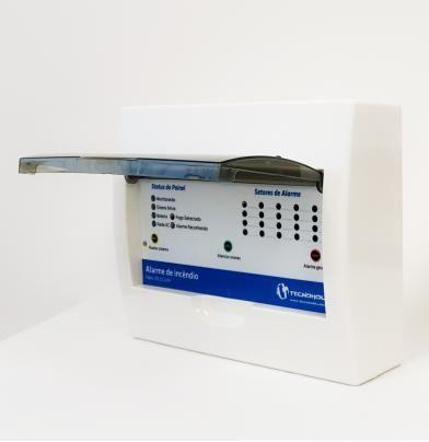 Central de Alarme de Incêndio com 20 Endereços - LED