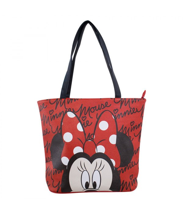 Bolsa Tote Assinatura Minnie Mouse - Disney