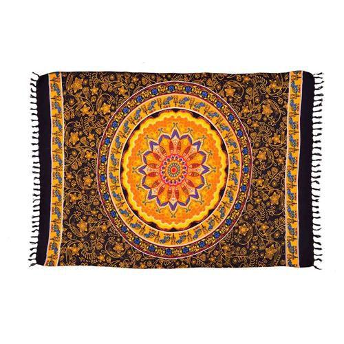 Canga Indiana Mandala Sun Laranja