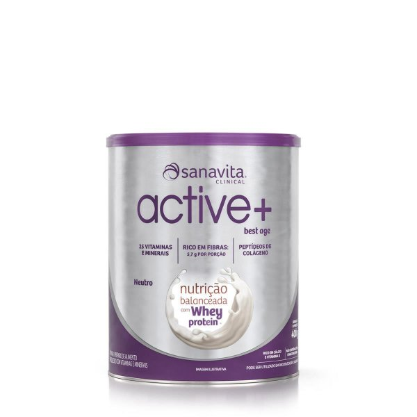 ACTIVE + BEST AGE NEUTRO LATA SANAVITA 400G