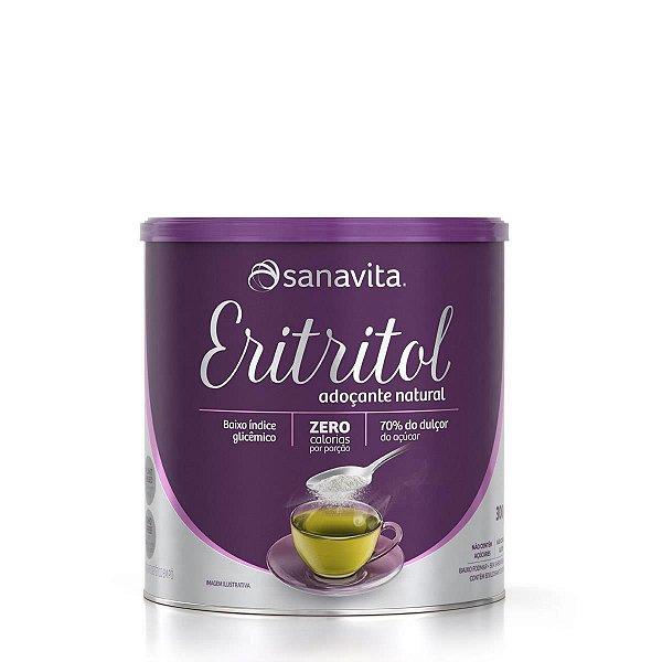 ERITRITOL ADOÇANTE NATURAL LATA SANAVITA 300G