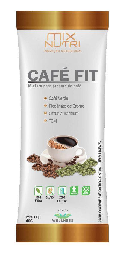 CAFÉ FIT MIX NUTRI SACHE 10G