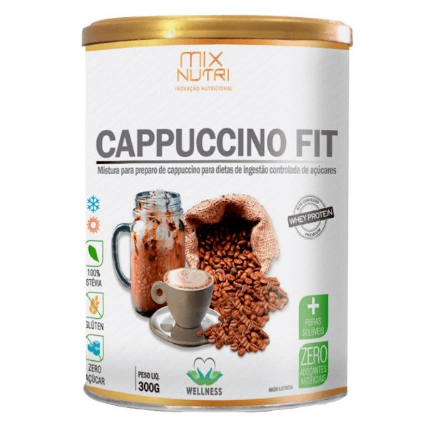 CAPPUCCINO FIT MIX NUTRI 300G