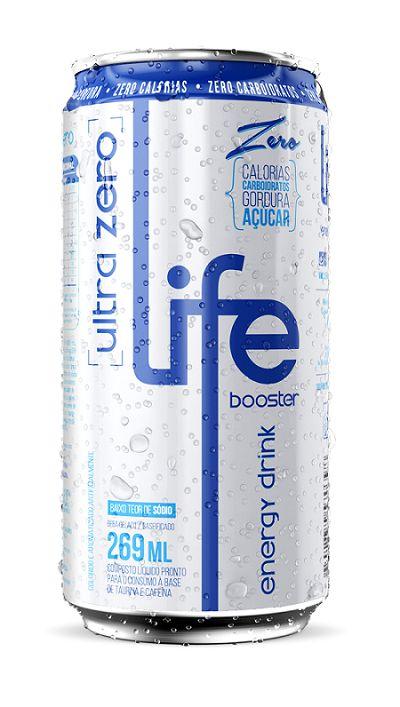 ENERGÉTICO ENERGY DRINK TRADICIONAL LIFE BOOSTER 269ML
