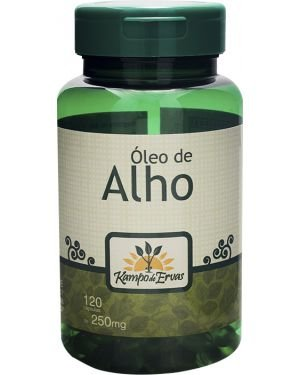 OLEO DE ALHO KAMPO DE ERVAS 120CAP 49G