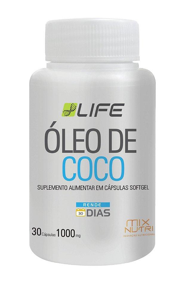 ÓLEO DE COCO MIX NUTRI 30 CAPSULAS 1000MG