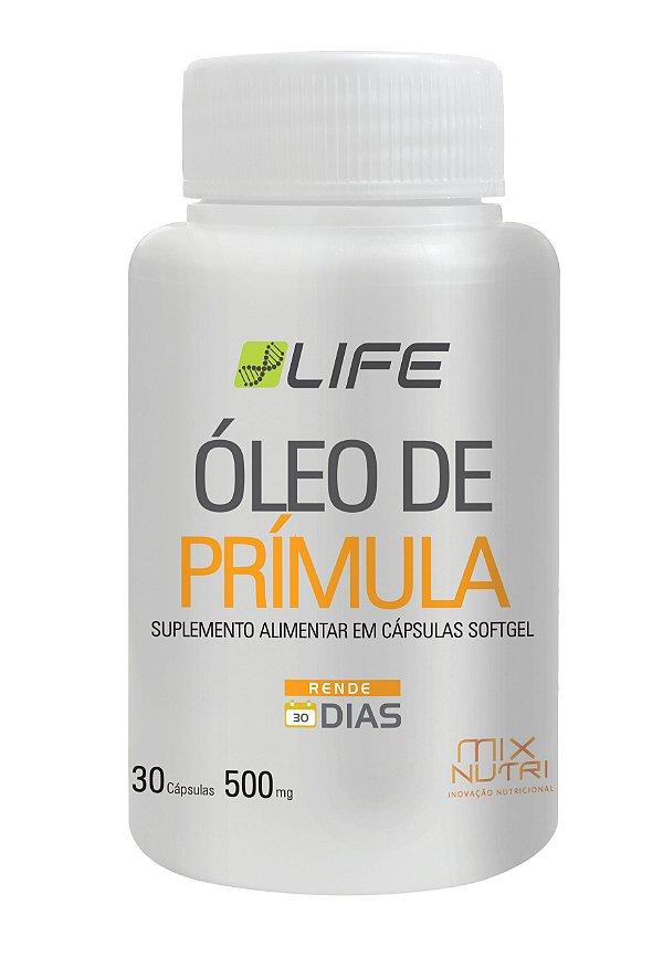 ÓLEO DE PRÍMULA LIFE MIX NUTRI 30 CAPSULAS 500G