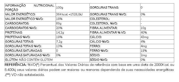 FARELO DE AVEIA  100G