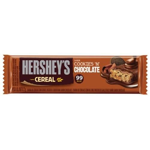 BARRA CEREAL CHOCOLATE HERSHEYS  22,0G