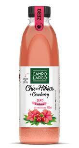 CHÁ CAMPO LARGO HIBISCO COM CRANBERRY ZERO 900ML