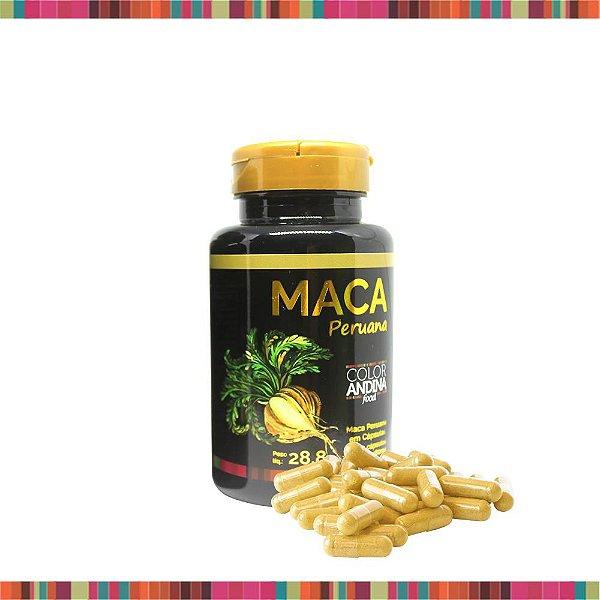 MACA PERUANA AMARELA COLOR ANDINA FOOD 60 CAPSULAS