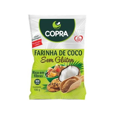FARINHA DE COCO SEM GLÚTEN COPRA 100G